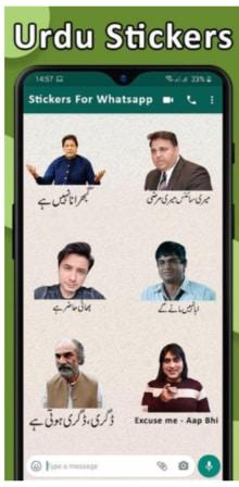 Funny Urdu Stickers For Whatsapp APK Download