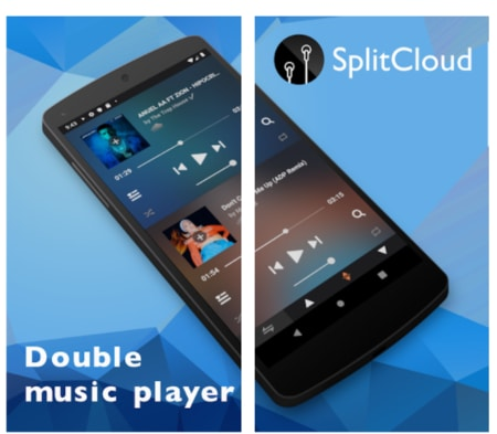 SplitCloud Double Music - How To Play Two Songs at Once