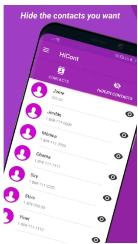 How To Hide Your Whatsapp Contact - HiCont Hide your contacts